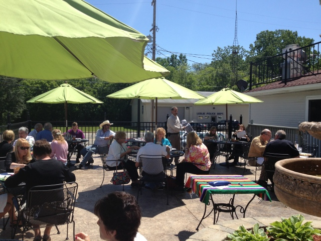 The LACC was able to enjoy an outdoor luncheon in June 2013 at Joe's South of the Border in Downtown Leslie. The guest speaker was from MDOT.