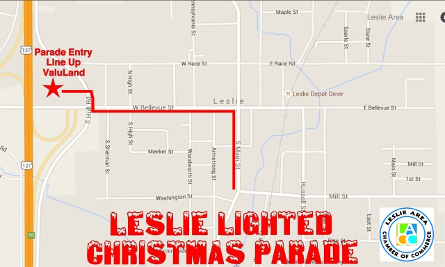 Map for Parade