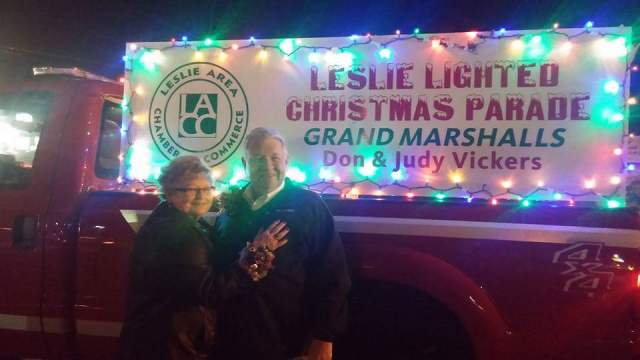 Don & Judy Vickers, 2015 Parade Grand Marshalls